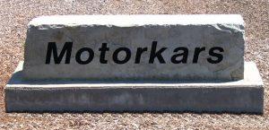 motorkars stone marker