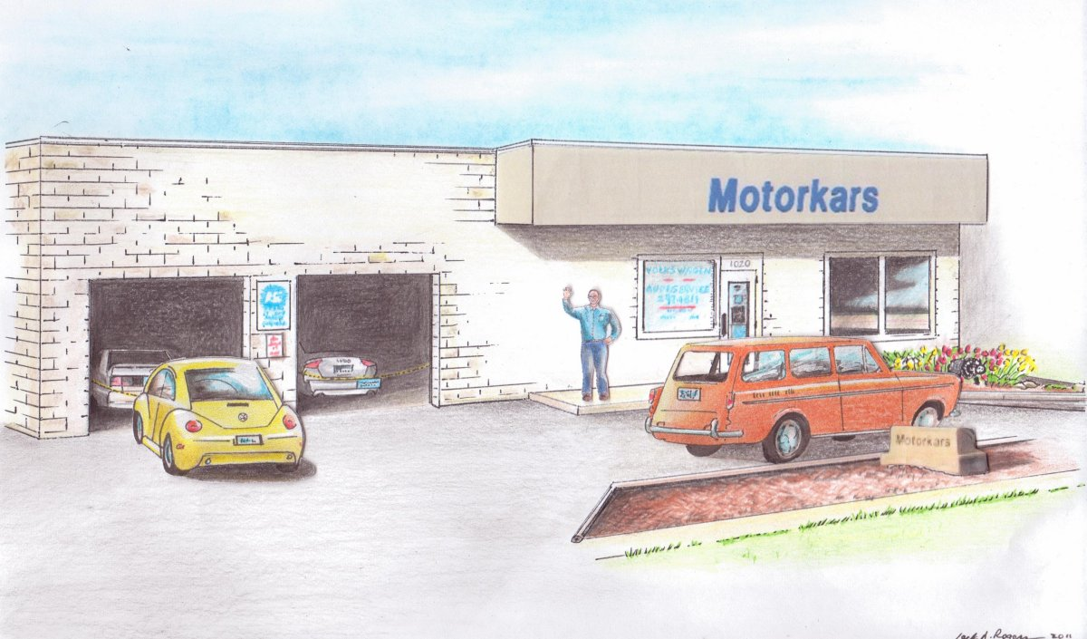 Motorkars Drawing by Jack Rogers